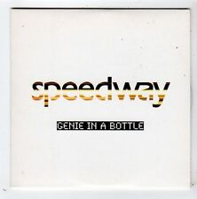 (FY982) Speedway, Genie In A Bottle - 2003 DJ CD