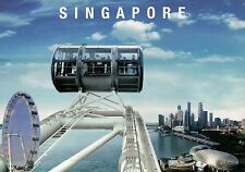City of SG from The Singapore Flyer, Ferris Wheel, Observation Tallest, Postcard