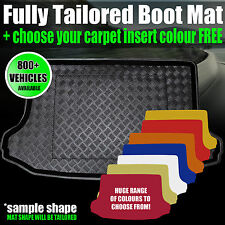 Volkswagen Touareg 5 Seats (2003-2010) Boot Mat - CHOOSE YOUR INSERT NOW!
