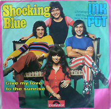 "7"" 1972 KULT IN VG+++ ! SHOCKING BLUE : Inkpot"