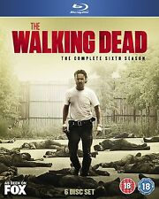 THE WALKING DEAD SEASON 6 BLU RAY*PreOrder ONLY- Release Date 26/09/2016*