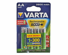 VARTA AA NIMH High Performance batterie ricaricabili 2600mAh - 4 IN PACK