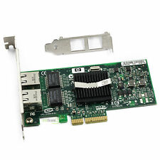 Intel EXPI 9402PT HP NC360T PCIe DUAL PORT Server Adapter
