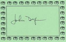 JOHN DUFRESNE, author, AUTHENTIC HAND SIGNED BOOKPLATE