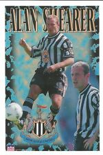 ALAN SHEARER NEWCASTLE UNITED Original Starline Poster MINI Promo Piece 3x5