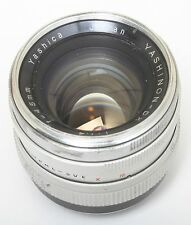 Yashica 45 1.4 lens lynx for Sony E mount A7 full frame