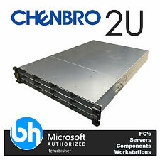 Chenbro 2x Intel Xeon Quad Core E5620 2.40GHz Cloud Server 48GB RAM Rackable 2U