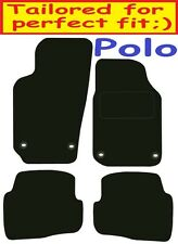 Vw Polo Tailored car mats ** Deluxe Quality ** 2009 2008 2007 2006 2005
