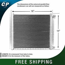 CNFP1416 AC A/C  Universal Condenser Parallel Flow 14 x 16 O-ring #6 & #8