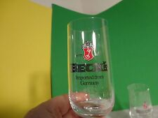 Becks 0.2L RC. Stemmed Beer Glasses - Set of 3