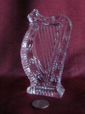 Waterford Crystal Vintage Large Harp Figurine