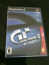 Gran Turismo 3 PS2 A-spec 150 Cars Sony PlayStation 2, 2002 Game Fast Racing PS