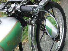 Cafe racer style handlebar mirror