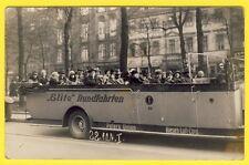 cpa FOTO KARTE DEUTSCHLAND BERLIN en 1929 AUTO und SCHIFFAHRT ELITE RUNDFAHRTEN