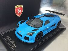 1/18 Peako Gumpert Apollo S Baby Blue Limited 20 pcs