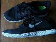 $140 NIKE FREE RUN 5.0 SHIELD SZ 9.5 Mens Running Shoes Black Leopard 615788 VGC