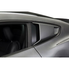 Cervini 4449 Mustang Quarter Window Scoops Unpainted Fastback 2015-17