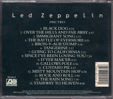 CD ROCK 60'S 70'S LED ZEPPELIN Black dog IMMIGRANT SONG stairway to heaven