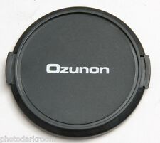 62mm Lens Cap - Snap-on - Ozunon - Japan - Plastic - USED C514