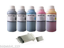 Refill ink for Epson 273 273XL XP-600 XP-610 XP-620 XP-800 XP-810 XP-820 5x250ml