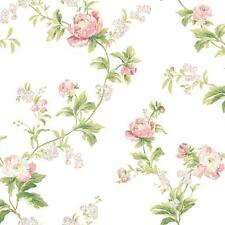 WALLPAPER BY THE YARD Waverly Wallpaper WA7753 Forever Your Trails Floral