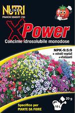 Concime Idrosolubile per Piante da Fiore