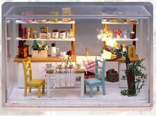 Diy artisanat miniature maison de poupées-cover & light dollhouse-uk stock rapide post