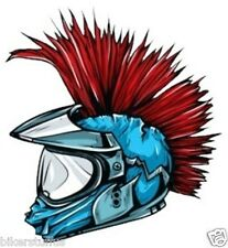 PUNK MOHICAN HARD HAT STICKER HELMET STICKER
