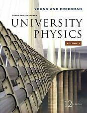 University Physics Vol 1 (Chapters 1-20) (12th Edition), Hugh D. Young, Roger Fr