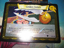HARRY POTTER TCG QUIDDITCH CUP GOLDEN SNITCH 8/80 SUPER RARE FOIL MINT NEUVE