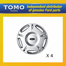 "Genuine Set of 4 16"" Ford Mondeo LX Wheel Trims Hub Caps MK3 2000-2007 1151368"