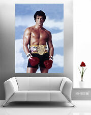 ROCKY Movie POSTER Roc6 Sylvester Stallone as Rocky Balboa 50x35 Boxing Wall Art