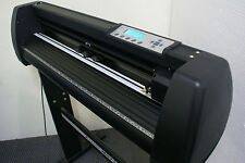 NEW JET BLACK REFINE MH721 VINYL CUTTER PLOTTER SIGN WRITING MACHINE