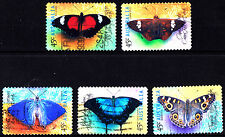 Australia 1998 Butterflies  Complete Set of Stamps P Used S/A