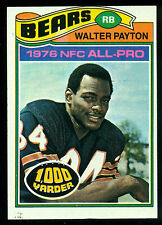 1977 TOPPS FOOTBALL #360 WALTER PAYTON EX-NM CHICAGO BEARS JACKSON STATE FR SHIP