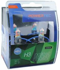 POWERTEC EXTREME WEATHER CONTROL DUO H3 HEADLIGHT CAR BULB SET 12V 55W