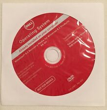 *NEW* Dell Windows 8.1 Pro/Home 64 Bit Restore Recovery DVD Disc w/ HDD