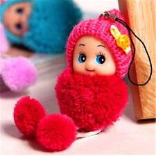 1 Pcs Soft Baby Doll Interactive Mini Doll Phone Hanging Kids Children Toy 8cm