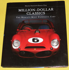 Million Dollar Classics 2014 Great Classic Automobiles NEW Photography Book See!