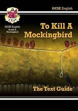 GCSE English Text Guide - To Kill a Mockingbird by CGP Excellent Condition