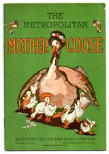 THE METROPOLITAN MOTHER GOOSE Met Life Insurance Nursery Rhyme Booklet 1930s