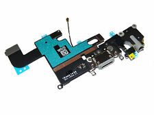 """OEM Apple iPhone6 4.7"""" Charger Charging Dock Port Audio Jack Flex Cable Gray USA"""