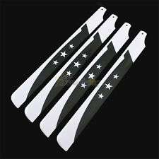2 pairs 325mm carbon fiber main rotor blade for align trex 450 Helicopter