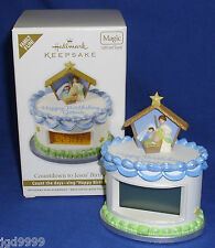 Hallmark Ornament Christmas Countdown to Jesus' Birthday 2012 Light Sound Advent