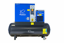 15 HP Rotary Screw Compressors w/ Air Tank & Dryer | Quincy Compressor QGS15HPD