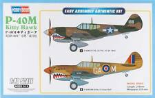 NEW Hobby Boss 1/48 P-40M Kitty Hawk Fighter HY85801
