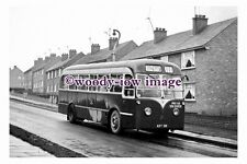 gw0027 - Doncaster Bus no 21 at Hill Top in 1961 - photograph