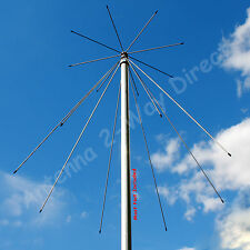 DISCONE BROAD BAND SCANNER HAM RADIO BASE STATION ANTENNA