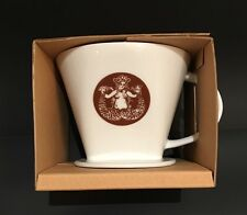 Pour-Over Ceramic Brewer The First Starbuck Drip Coffee Maker 2016 New