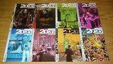 2020 Visions #1-12 VF/NM complete series - vertigo comics - frank quitely set